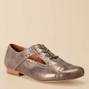 Fossil Baisley Oxford Metallic Loafers